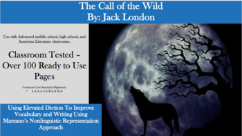 The Call of the Wild – Elevated Diction & Vocabulary
