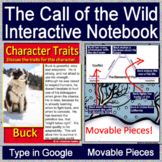 The Call of the Wild Interactive Notebook for Google Drive