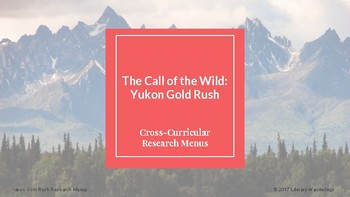 The Call of the Wild Research Menu