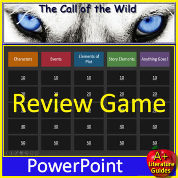 The Call of  the Wild Novel Study Unit