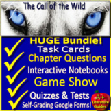 The Call of the Wild Novel Study Unit Printable and Paperless with Self-grading