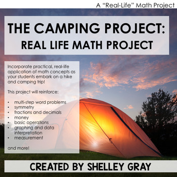 The Camping Project: A Real-Life Math Project | Distance Learning