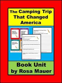 The Camping Trip That Changed America Book Unit