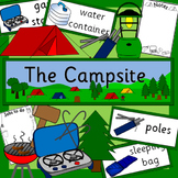 The Campsite role play pack- camping, holidays