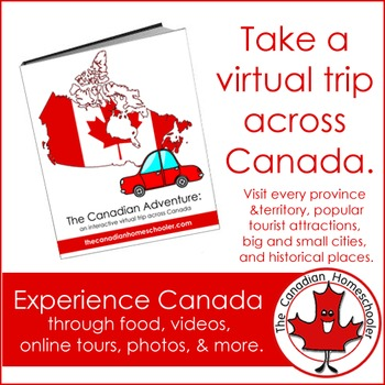 The Canadian Adventure: A Virtual Trip Across Canada