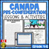 The Canadian Puzzle-Explore Canada's Diversity Prior to Confederation