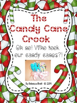The Candy Cane Crook!  A Fun Christmas Clue Hunt!
