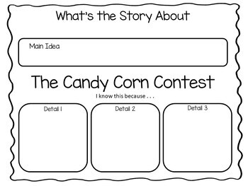 The Candy Corn Contest ~ 44 pgs of Common Core Activities