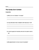 """The Candy Corn Contest"" Comprehension Questions"
