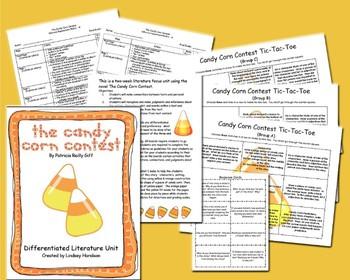 The Candy Corn Contest - Differentiated Literature Unit