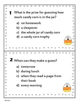 The Candy Corn Contest Literature Scoot