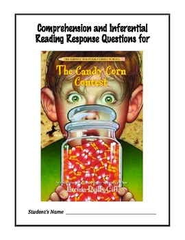 The Candy Corn Contest by Patricia Reilly Giff - Reading Response Questions