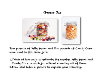 The Candy Guess Jar Activity
