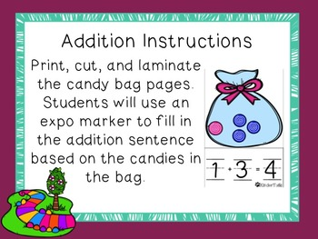 The Candy Man's Addition and Subtraction