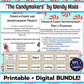 The Candymakers Novel Study BUNDLE [Printable + Digital]