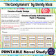 The Candymakers by Wendy Mass PRINTABLE Novel Study