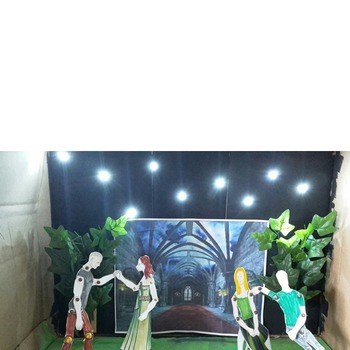 The Canterbury Tales: 3D Scene Analysis Project Diorama: Standards Based