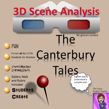 The Canterbury Tales: 3D Scene Analysis Project Diorama: S