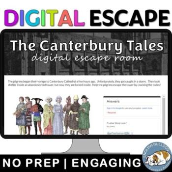 Intro to The Canterbury Tales Digital Lock Box Escape Room Game
