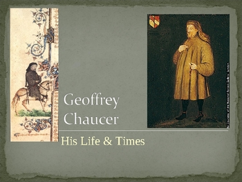 The Canterbury Tales, General Prologue (Lecture & Content Knowledge)