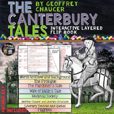 The Canterbury Tales Reading Literature Guide Flip Book