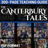 Canterbury Tales Literature Guide - 330 pages - Lessons, Activities, Assessments