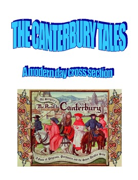 The Canterbury Tales: Modern Day Cross Section Activity (Prologue)