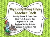 THE CANTERBURY TALES PACK: POWERPOINT, PRINTABLES, ASSESSMENTS & KEY, GUIDE