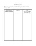 The Canterbury Tales Pilgrim Chart