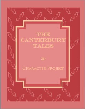 The Canterbury Tales:  Pilgrim Poster Project