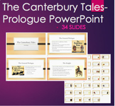 The Canterbury Tales Prologue PPT of all pilgrim character