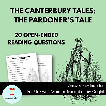 The Canterbury Tales: The Pardoner's Tale - Reading Homework Questions