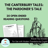 The Canterbury Tales: The Pardoner's Tale - Reading Homewo
