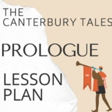 """The Canterbury Tales """"The Prologue"""" Lesson Plan with PowerPoint"""