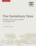 "The Canterbury Tales: The Role of Fate and Free Will in ""T"