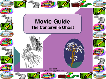 Movie Guide: The Canterville Ghost-Suspense, Foreshadowing and Characterization