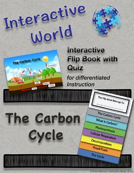 The Carbon Cycle Interactive Flip book and Quiz
