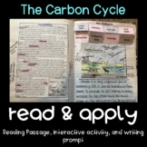 The Carbon Cycle Read and Apply