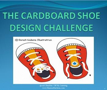 The Cardboard Shoe STEM Design Challenge