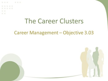 The Career Clusters Lesson