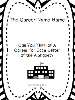 The Career Name Game