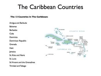 The Caribbean - A World Region PowerPoint