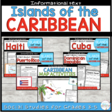 Caribbean Islands: Reading Passages and Activities Bundle