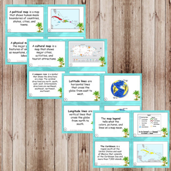 The Caribbean Islands: Map Skills