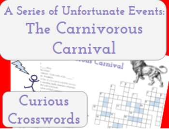 The Carnivorous Carnival- Worksheet (Book 9 Series of Unfortunate Events)