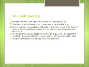 The Carolingian Age of the Church