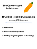 The Carrot Seed: Guided Reading Activity Pack