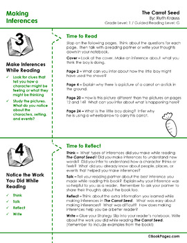 The Carrot Seed Lesson Plans & Activities Package, First Grade (CCSS)