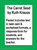 The Carrot Seed Literacy Activity