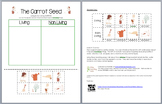 The Carrot Seed - Living vs. Non Living Sorting Activity